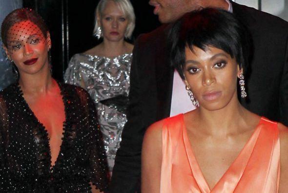 Durante una gala en Nueva York, la hermana de Beyoncé se soltó a golpes...