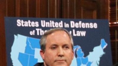 El Procurador de Texas presentó pidió a la Corte Federal de Distrito par...
