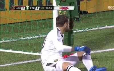 Fantástica conexión hondureña para gol de la voltereta de Houston Dynamo