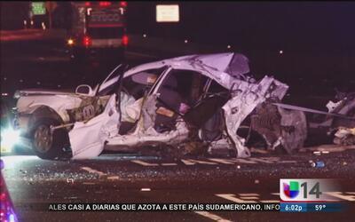 Carambola vehicular sobre la 580 en Livermore deja a una persona muerta