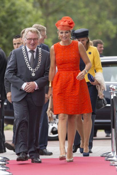Máxima de Holanda sigue dando lecciones de estilo y simpat&iacute...