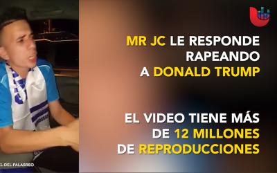 """El rapero """"MR JC"""" le canta a Donald Trump en respuesta a comentarios rac..."""