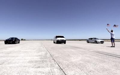 Atieva Edna vence a Tesla Model S y Ferrari California T