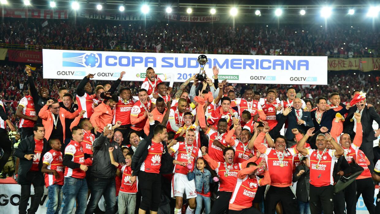 Santa Fe de Bogotá campeón de la Copa Sudamericana