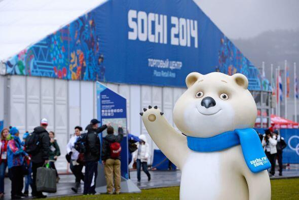 Las mascotas de los Juegos Olímpicos de Invierno Sochi 2014, un l...