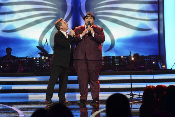 Los dos Ricardos tuvieron un momento bastante conmovedor en el escenario.