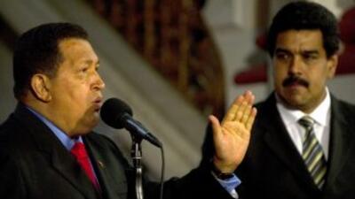 Chávez acordó delegar en Maduro algunas funciones de manejo de presupues...
