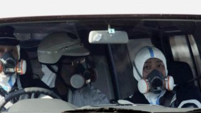 Las radiaciones en la instalación de la central nuclear Fukushima sobrep...
