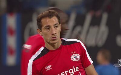 Alerta en el Tri, Andrés Guardado se lesionó con el PSV