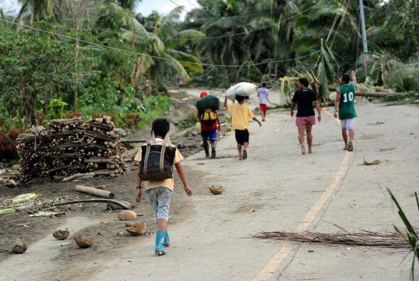 Las autoridades filipinas prevén que la cifra final de fallecidos...