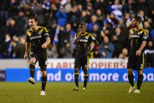 Marcador final que dejó con un sabor a derrota en el Chelsea, pese a que...