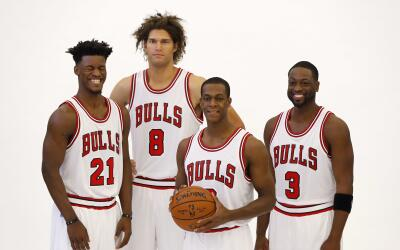 Wade, Rondo y López se unen a Butler en Chicago.