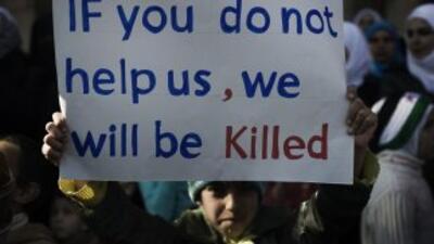 El informe reveló que ha aumentado la utilización de niños en las hostil...