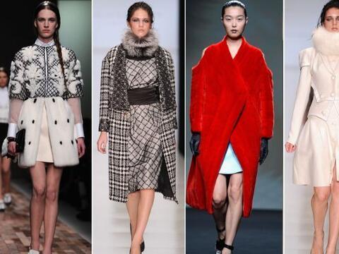 El otoño y los abrigos son una combinación inseparable cad...