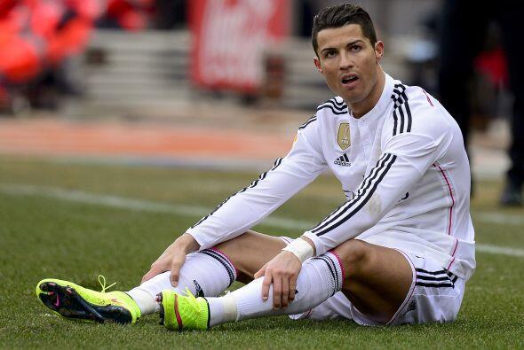 Empezando por Cristiano Ronaldo, quien tras recibir el premio ha visto b...