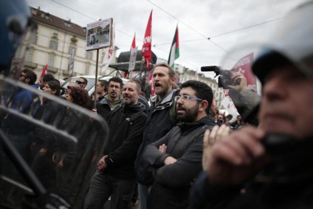 Dichos enfrentamientos se saldaron con varios activistas detenidos.