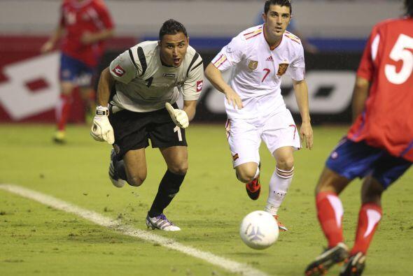 Con el Saprissa jugó el Mundial de Clubes del 2005, torneo en el...
