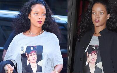 Rihanna muestra su apoyo por Hillary con nuevo estilo