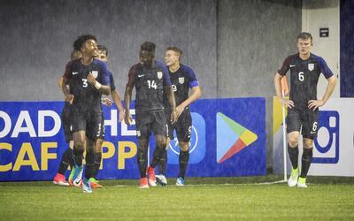 Estados Unidos venció 4-3 a México en el Premundial Sub 17 de la Concacaf