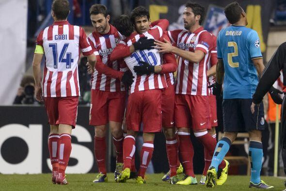 Atlético de Madrid contó con algo de fortuna y el apoyo de los postes pa...