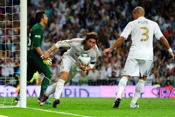 Eso hasta que Sergio Ramos consiguió el tanto del empate.