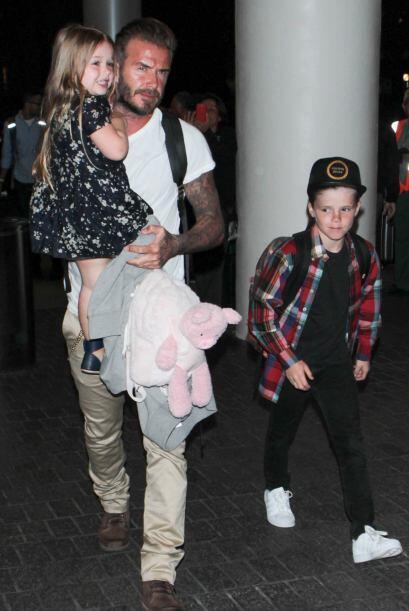 No cabe duda de que todos los Beckham tienen muy buenos genes.