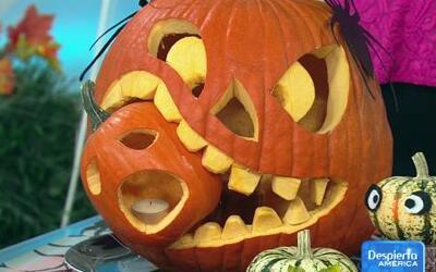 Dale un toque diferente a las calabazas en este Halloween