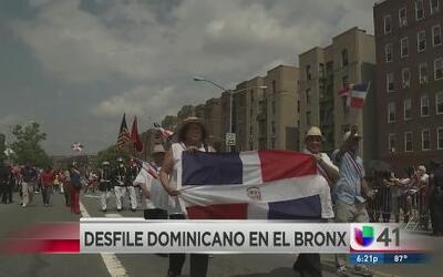 Desfile dominicano en el Bronx