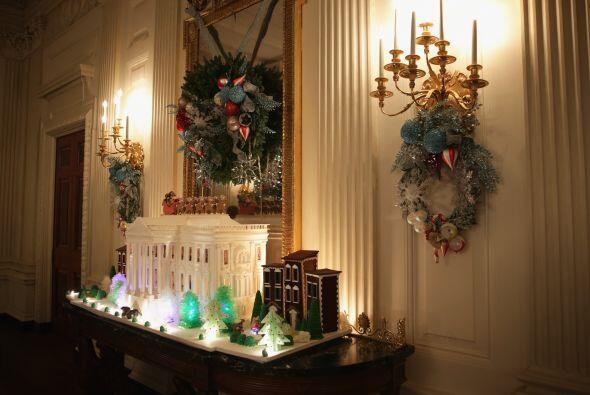 Aquí las mejores fotos de todos los detalles que iluminan la residencia...