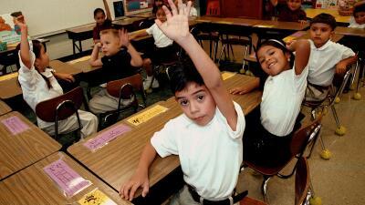 Niños hispanos