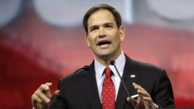 El Senador Marco Rubio (republicano por Florida).