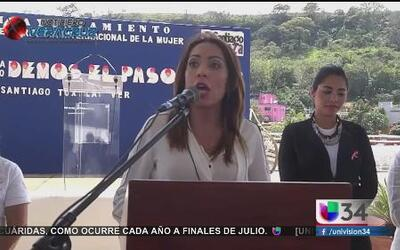 La alcaldesa de uno de los municipios más pobres de Veracruz viste de di...