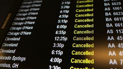 Más de 600 vuelos afectados por el clima