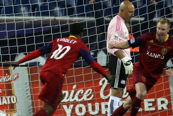 Gracias a un gol en los últimos seis minutos, RSL es líder de la MLS.
