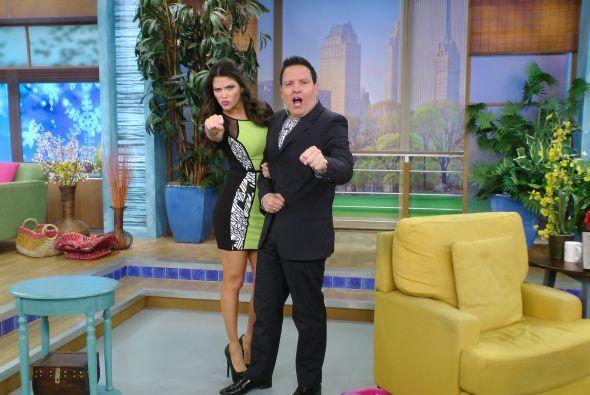 El martes, Ana y Raúl derrocharon energía al conducir el programa.