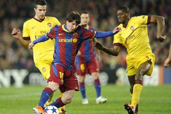 Lionel Messi era el mayor referente ofensivo del cuadro español, pero el...