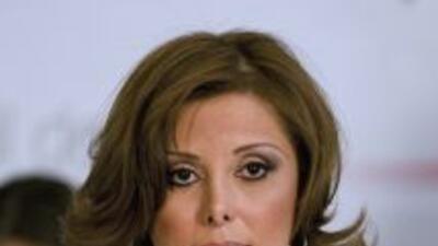 Marisela Morales, la titular de la Procuraduría General de la República...