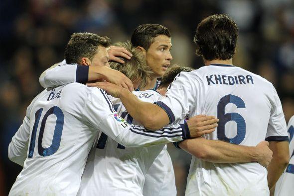El Real Madrid ganó al Valencia en el partido de ida de cuartos de final...