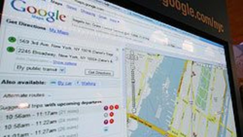 Sue Curtis, de 40 años, fue animada por los mapas de Google para salir a...
