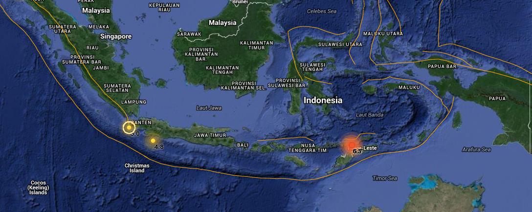 SISMO 6,3 GRADOS INDONESIA
