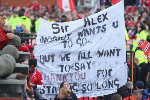 El evento también serviría para honrar al escocés Sir Alex Ferguson, qui...