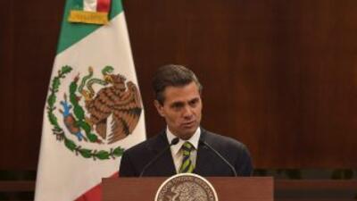 El presidente mexicano Enrique Peña Nieto.