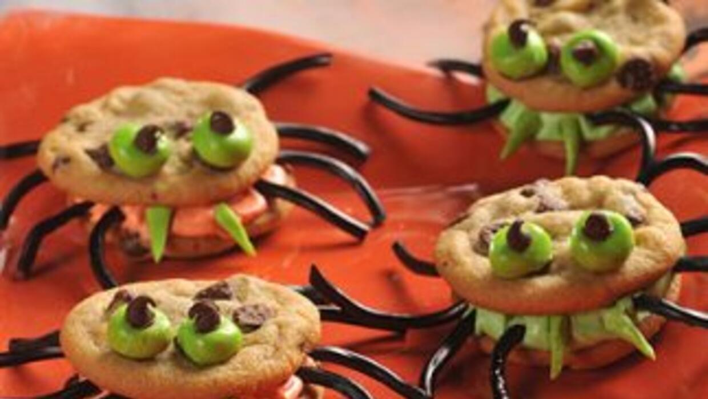 Prepara estas galletas para tu fiesta de Halloween y verás cómo sorprend...