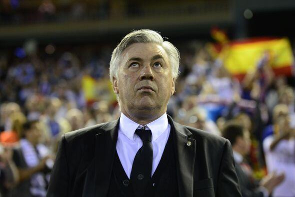 Los hombres de Carlo Ancelotti no eran tan constantes al ataque, pero ca...
