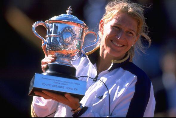 Steffi Graf, la única tenista en lograr el Golden Slam, se procla...