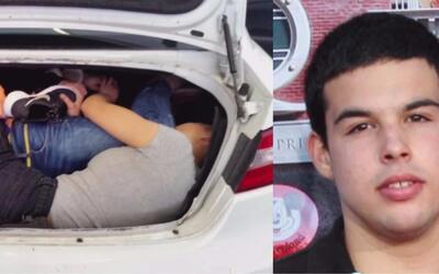 Ya sabemos lo que pasará con los asiáticos que iban escondidos en el aut...