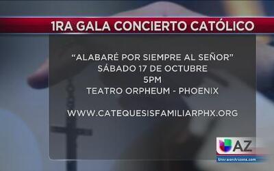 Primera gala concierto Católico