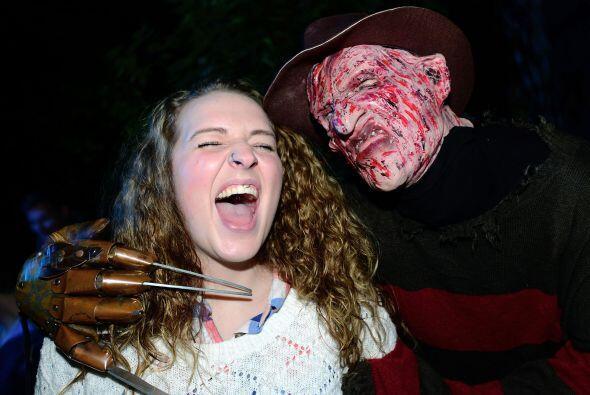 Un clásico del cine de miedo, que no podía faltar, es Freddy Krueger, qu...