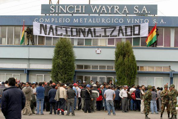 FEBRERO DE 2007- La compañía Vinto, una fundidora de metales en manos de...
