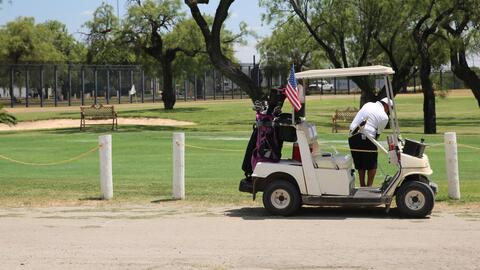 The Texas golf course is stuck in no-man's land.